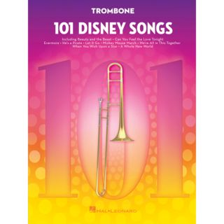 Hal Leonard 101 Disney Songs: Trombone Εικόνα προιόντος