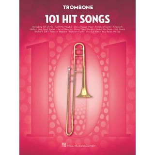 Hal Leonard 101 Hit Songs For Trombone Product Image