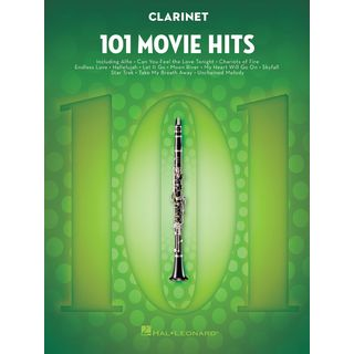 Hal Leonard 101 Movie Hits For Clarinet Product Image