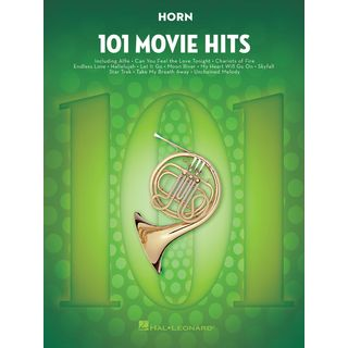 Hal Leonard 101 Movie Hits For Horn Product Image