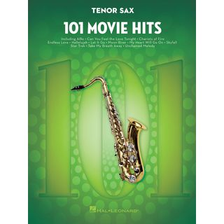 Hal Leonard 101 Movie Hits For Tenor Saxophone Product Image