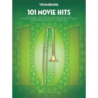Hal Leonard 101 Movie Hits For Trombone Εικόνα προιόντος