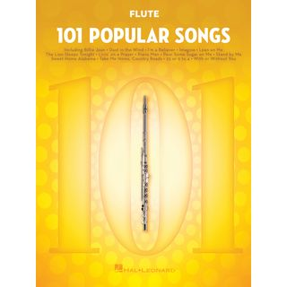 Hal Leonard 101 Popular Songs For Flute Product Image
