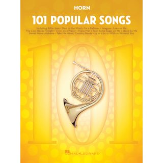 Hal Leonard 101 Popular Songs For Horn Εικόνα προιόντος