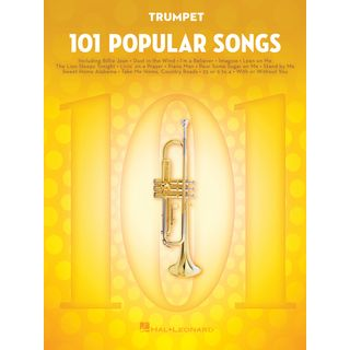 Hal Leonard 101 Popular Songs For Trumpet Εικόνα προιόντος