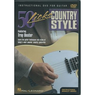 Hal Leonard 50 Licks - Country style DVD Product Image