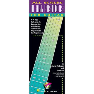 Hal Leonard All scales in all positions Pocket Guide Guitar Produktbild
