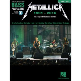 Hal Leonard Bass Play-Along Volume 22: Metallica 1991-2016 Product Image