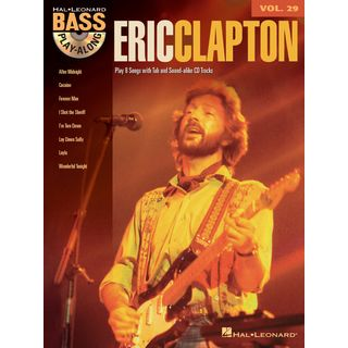 Hal Leonard Bass Play-Along Volume 29: Eric Clapton Product Image