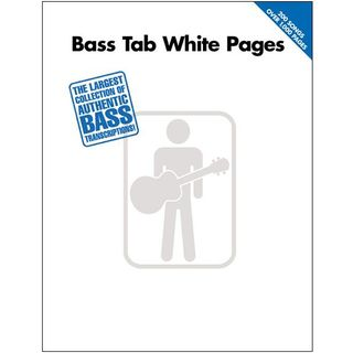 Hal Leonard Bass Tab White Pages Product Image