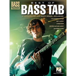Hal Leonard Best Of Bass TAB Bass Recorded Versions Product Image