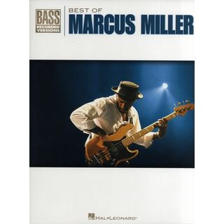 Hal Leonard Best Of Marcus Miller BASS TAB Product Image