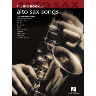 Hal Leonard Big Book Of Alto Sax Songs Product Image