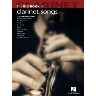 Hal Leonard Big Book Of Clarinet Songs Product Image
