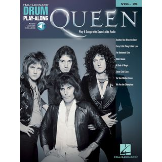 Hal Leonard Drum Play Along Volume 29: Queen Product Image