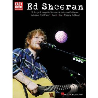 Hal Leonard Ed Sheeran For Easy Guitar Product Image
