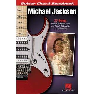 Hal Leonard Guitar Chord Songbook: Michael Jackson Product Image