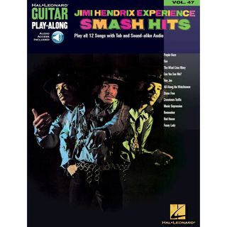 Hal Leonard Guitar Play-Along: Jimi Hendrix Experience Smash Hits Vol. 47, TAB und CD Produktbild