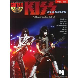 Hal Leonard Guitar Play-Along Volume 168: Kiss Produktbild