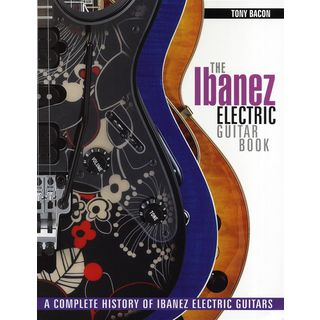 Hal Leonard Ibanez Electric Guitar Book Tony Bacon Product Image