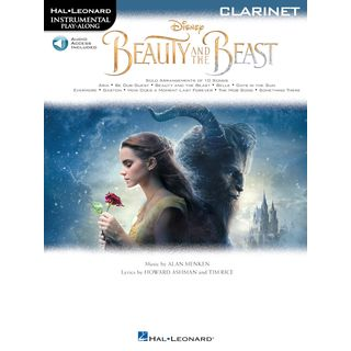 Hal Leonard Instrumental Play-Along: Beauty And The Beast - Clarinet Product Image