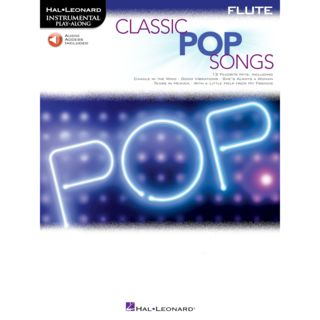 Hal Leonard Instrumental Play-Along: Classic Pop Songs - Flute Product Image
