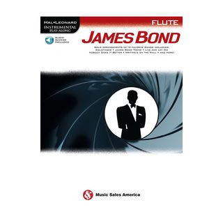 Hal Leonard Instrumental Play-Along: James Bond - Flute Product Image