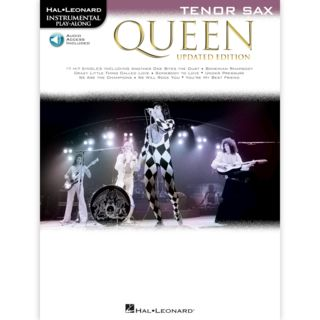 Hal Leonard Instrumental Play-Along: Queen - Tenor Saxophone Product Image