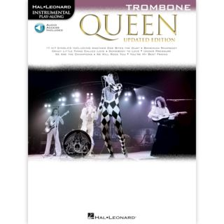 Hal Leonard Instrumental Play-Along: Queen - Trombone Product Image
