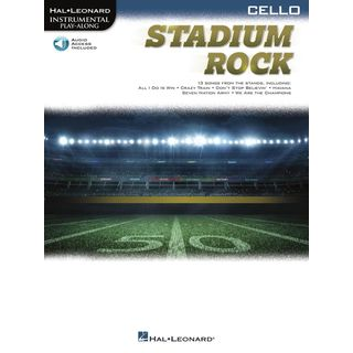 Hal Leonard Instrumental Play-Along: Stadium Rock for Cello Product Image