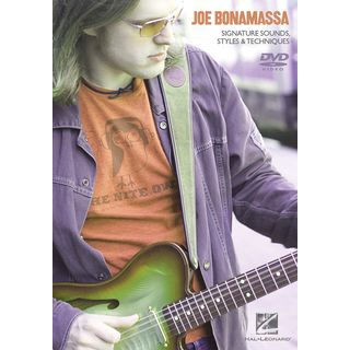 Hal Leonard Joe Bonamassa: Signature Sounds, Styles And Techniques Изображение товара