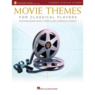 Hal Leonard Movie Themes for Classical Players - Clarinet and Piano Product Image