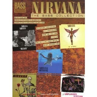 Hal Leonard Nirvana Bass Guitar Collection Bass Guitar Produktbild