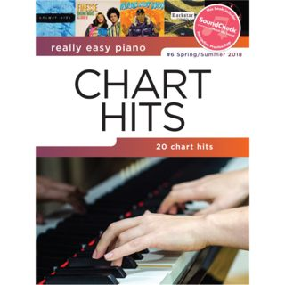 Hal Leonard Really Easy Piano: Chart Hits Vol. 6 Product Image