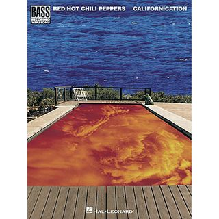Hal Leonard Red Hot Chili Peppers: Californica Bass TAB Product Image