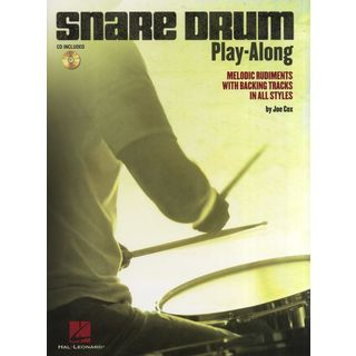 Hal Leonard Snare Drum Play-Along Melodic Rudiments, Book and CD Product Image