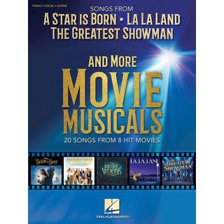 Hal Leonard  Songs from A Star Is Born, The Greatest Showman, La La Land Product Image