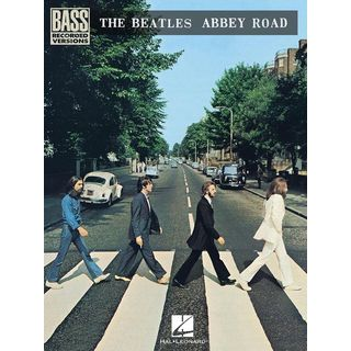 Hal Leonard The Beatles: Abbey Road Bass Recorded Versions Product Image