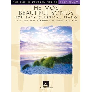 Hal Leonard The Most Beautiful Songs for Easy Classical Piano Produktbild
