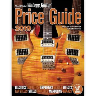 Hal Leonard The Official Vintage Guitar Magazine Price Guide 2019 Product Image