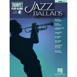 Hal Leonard Trumpet Play-Along Volume 7: Jazz Ballads Εικόνα προιόντος