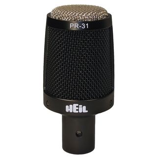 Heil Sound PR31BW Dynamic GrossMembraneMicrophone Cardioid, incl.  Microphone Holder Product Image