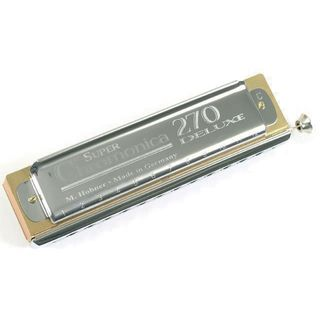 Hohner Super Chromonica Deluxe 270/48  Product Image