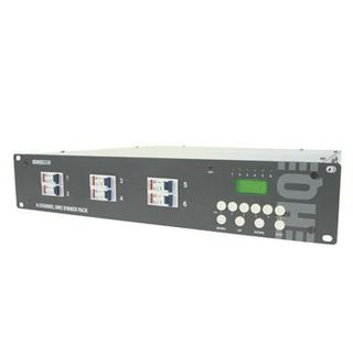 HQ Power 6-Channel DMX-Dimmer Pack / LCD 6x 10A, Schuko-Anschluss Product Image