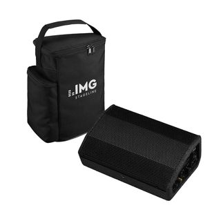 IMG STAGELINE FLAT-M100 + Bag - Set Product Image