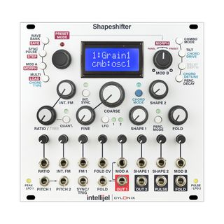 Intellijel Cylonix Shapeshifter Morphable Wavetable VCO Product Image