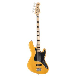 J & D Bass guitar JB Vintage 1975 BSB Butterscotch Blonde Product Image
