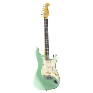 J & D Electric guitar ST Vintage SGR Surf Green Product Image