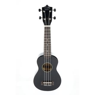 J & D UK-B1S Ukulele Black with Gigbag Product Image