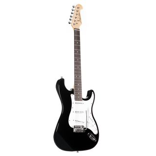 Jack & Danny Electric guitar ST Rock RW BK Black Product Image